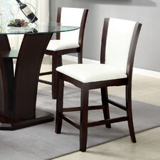 <strong>Hokku Designs</strong> Carmilla Counter Height Side Chair (Set of 2)