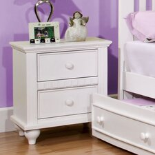 <strong>Hokku Designs</strong> Kennedy 2 Drawer Nightstand