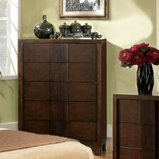<strong>Hokku Designs</strong> Triad 5 Drawer Chest