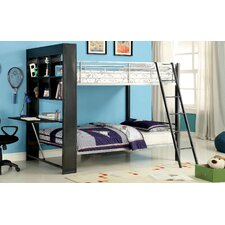 Lance Twin Over Twin Bookcase Bunk Bed