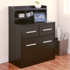 2-Drawer File Cabinet Workstation