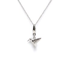 <strong>EZ Charms</strong> 1.3 Grams Sterling Silver Hummingbird Charm
