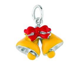 Sterling Silver Chrsitmas Bells Charm