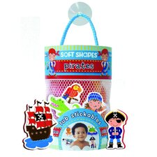 <strong>Innovative Kids</strong> Pirates Soft Shape Stickables Tub (Set of 20)