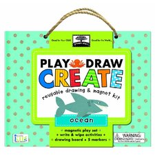 Play Draw Create Oceans Drawing and Magnet Kit