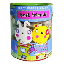Best Friends Soft Shapes Giant Floor Puzzle