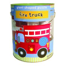 Fire Truck Soft Shapes Giant Floor Puzzle
