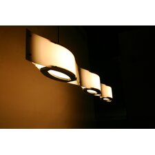 <strong>Shiner International</strong> Triple Wave 3 Light Mini Pendant