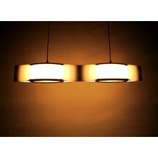 <strong>Shiner International</strong> Double Wave 2 Light Mini Pendant
