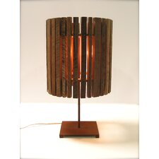 "Drop 29.5"" H Table Lamp with Drum Shade"