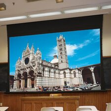 Access XL Series V Matte White Electric Projection Screen with Low Voltage Motor