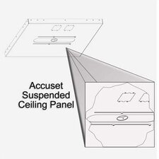 Aero Accuset Suspended Ceiling Panel