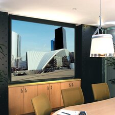 Signature Series E Argent White Electric Projection Screen