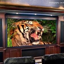 ShadowBox Clarion Pure White Fixed Frame Projection Screen