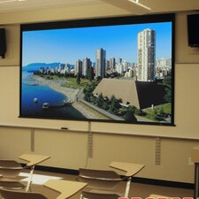 Access/Series M Argent White Electric Projection Screen