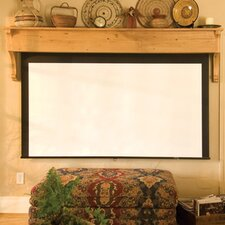Silhouette/Series M Contrast Radiant Electric Projection Screen with Low Voltage Motor