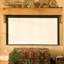 Silhouette/Series M Argent White Electric Projection Screen