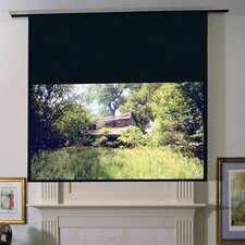 Access Series E Clear Sound White Weave Electric Projection Screen