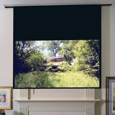 Ultimate Access/Series E ClearSound Grey Weave Electric Projection Screen with Low Voltage and Quiet Motor