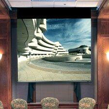 Envoy Matte White Electric Projection Screen with Low Voltage Motor