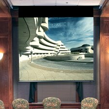 Envoy Matte White Electric Projection Screen with Quiet Motor