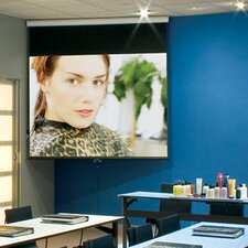 "Luma Contrast Grey 100"" Electric Projection Screen"