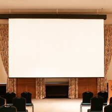 Rolleramic Contrast Grey Electric Projection Screen