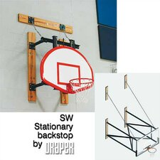 SW Stationary Basketball Backstop
