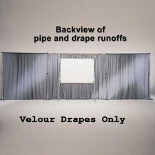 Velour Drape Panels