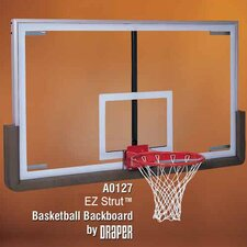 EZ Pro-Strut Bank Glass Basketball Backboard