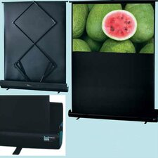 "Matte White RoadWarrior Portable Screen - 55"" HDTV Format"
