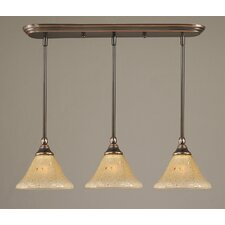 3 Light Multi Light Mini Pendant With Hang Straight Swivels