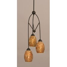 Contempo 3 Light Mini Pendant