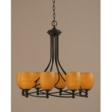 Capri 8 Light Chandelier
