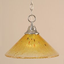 <strong>Toltec Lighting</strong> 1 Light Downlight Pendant