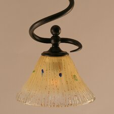 <strong>Toltec Lighting</strong> Capri 1 Light Mini Pendant