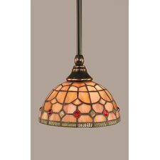<strong>Toltec Lighting</strong> Any 1 Light Stem Mini Pendant