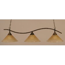 Swoop 3 Light Island Pendant