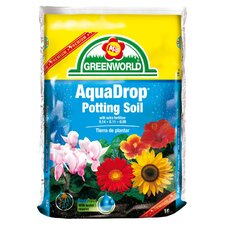 AquaDrop, Water Controlled Potting Soil With Nine Month Fertilizer (3/Box)