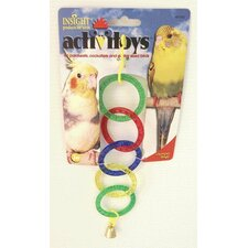 Activitoys Olympic Rings Bird Toy