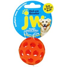 <strong>J.W. Pet Company</strong> Mini Hole-Ee Bowler Dog Toy