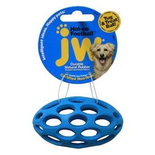 <strong>J.W. Pet Company</strong> Mini Hole-Ee Football Dog Toy