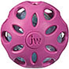 <strong>J.W. Pet Company</strong> Crackle Heads Ball Dog Toy