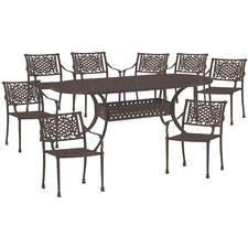 <strong>AIC Garden & Casual</strong> Charleston 9 Piece Dining Set