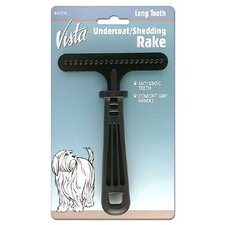 Vista Pet Undercoat Shedding Rake
