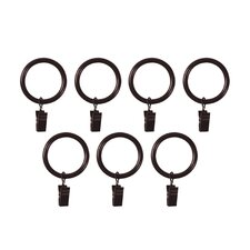 Clip Curtain Rings (Set of 7)
