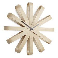 """20.25"""" Ribbonwood Wall Clock"""