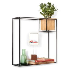 Cubist Floating Shelf Display