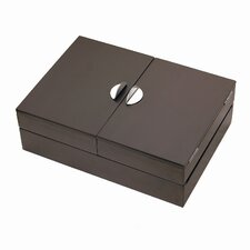 Repose Storage Box in Espresso