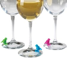 Perch Wine Charm (Set of 6)
